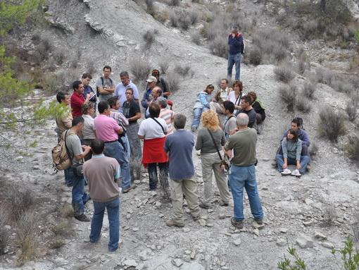 Visita al Yacimiento de fósiles de La Querola
