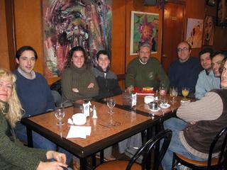 Reunión miembros en la Cafetería Nevada año 2005