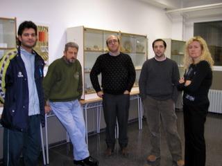 1ª Exposición en el IES Cotes Baixes año 2005