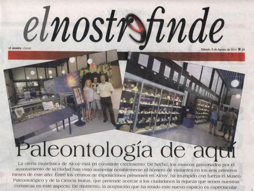 Paleontología de aquí «Colección Museográfica»