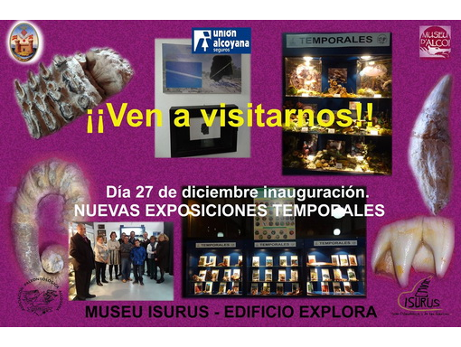 Exposiciones temporales 2016